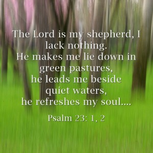 The-Lord-is-my-shepherd